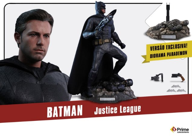 Batman Liga da Justiça DC Comics Movie Masterpiece Hot Toys Original