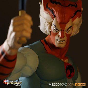 Tygra Thundercats Classic Mega-Scale Mezco Toyz Original