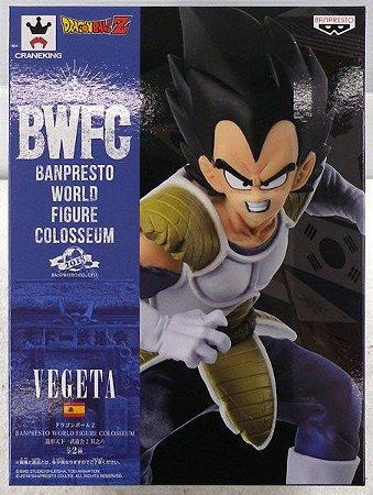 Vegeta Dragon Ball Z BWFC World Figure Colosseum 2018 Banpresto Original