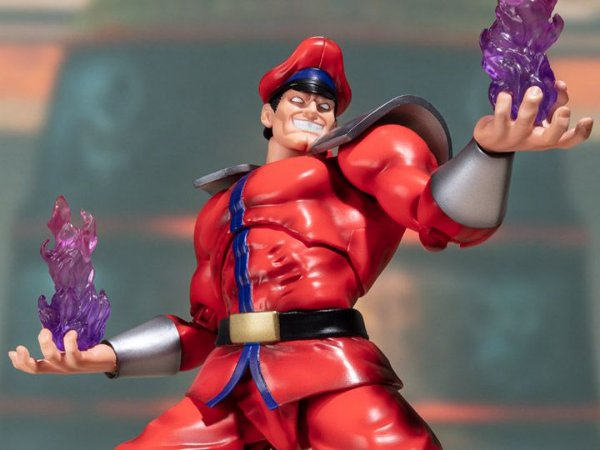 M. Bison Street Fighter V S.H. Figuarts Bandai Original