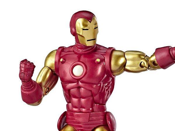Homem de Ferro Marvel Comics Aniversário 80 anos Marvel Legends Hasbro Original