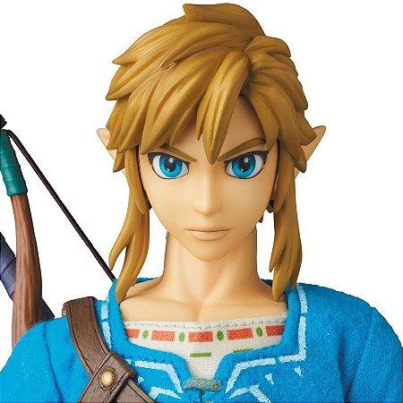Link The Legend of Zelda Breath of the Wild Real Action Heroes No.764 Medicom Toy Original