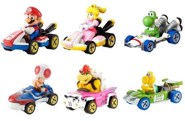 Super Mario Hot Wheels Mattel Original