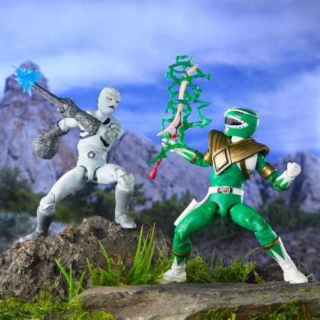 Tommy Ranger Verde & Putty Power Rangers Mighty Morphin Lightning Collection Hasbro Original