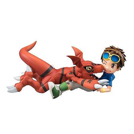 Guilmon & Takato Matsuda Digimon Tamers G.E.M. Series MegaHouse Original