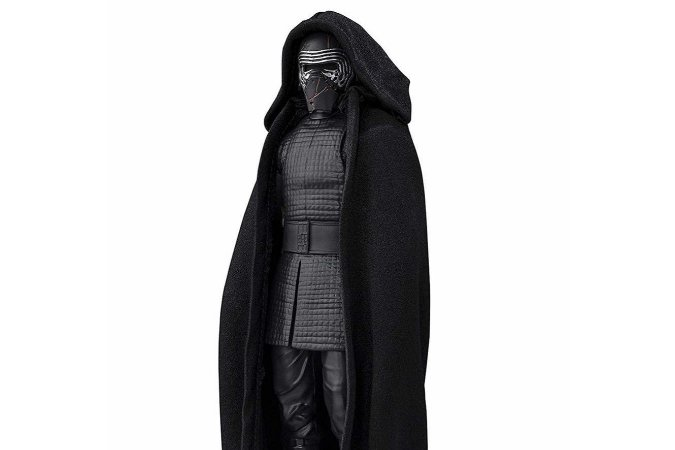 Kylo Ren Star Wars Episódio IX A Ascensão Skywalker S.H. Figuarts Bandai Original