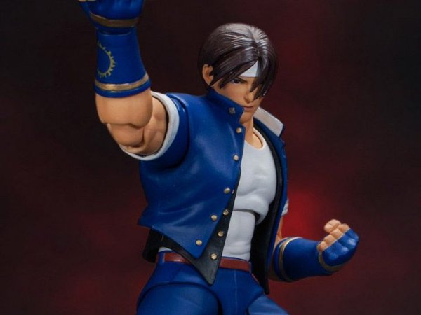 Kyo Kusanagi The King of Fighters 98 edição limitada Storm Collectibles Original