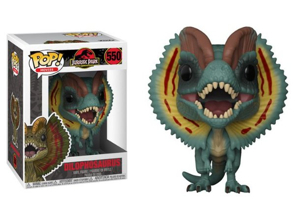 Dilophosaurus Jurassic Park Pop! Movies Funko original