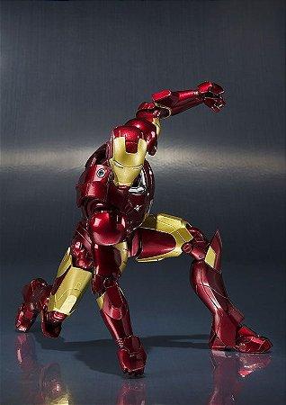 Homem de Ferro Mark 3 Homem de Ferro Marvel Comics S.H. Figuarts Bandai Original