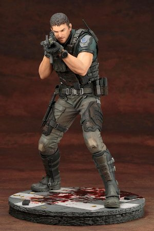 Chris Redfield Resident Evil Vendetta Artfx Kototbukiya Original