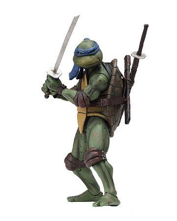 Leonardo Tartarugas Ninja o filme 1990 NECA Original