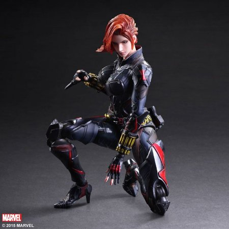 Viúva Negra Marvel Comics Play Arts Kai Variant Square Enix Original