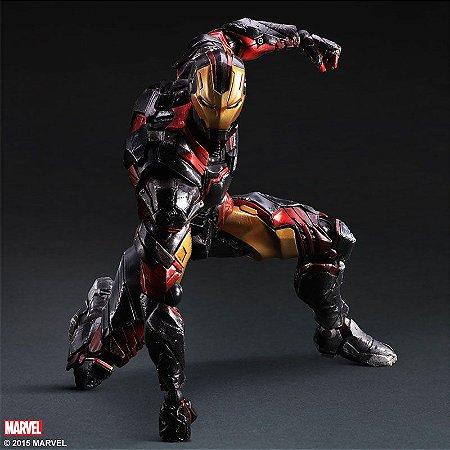 Homem de Ferro Marvel Comics Play Arts Kai Square Enix Original