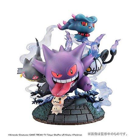 Pokemons Fantasmas Grande Encontro G.E.M. EX Series MegaHouse Original