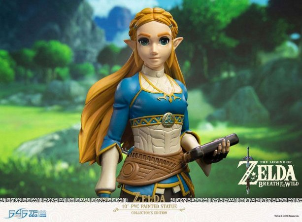 Princesa Zelda The Legend of Zelda First 4 Figures Original