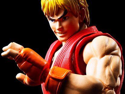 Ken Master Street Fighter IV S.H. Figuarts Bandai Original