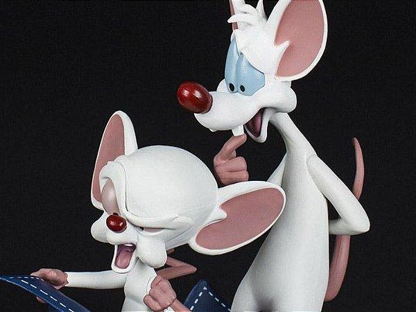Pinky e o Cérebro Q-Fig Toons Quantum Mechanix Original