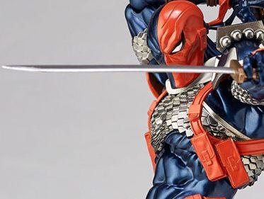 DeathStroke DC Comics Figure Complex Amazing Yamaguchi No.011 Revoltech Kaiyodo Original