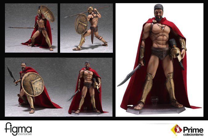Leonidas 300 Sparta Figma Good Smile Company Original