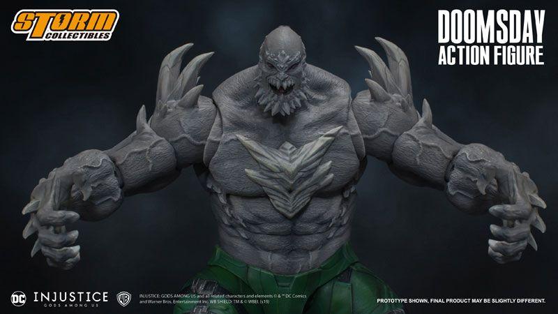 Doomsday Injustice Gods Among Us Storm Collectibles Original