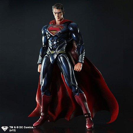 Superman O Homem de aço Play Arts Kai Square Enix Original