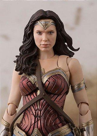 Mulher Maravilha Liga da Justiça S.H. Figuarts Bandai Original