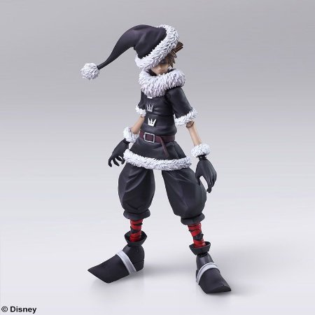 Sora Christmas Town Kingdom Hearts Bring Arts Square Enix Original