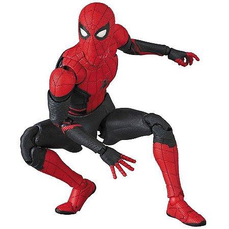 Homem Aranha Traje atualizado Homem aranha Longe de Casa Marvel Comics Mafex No.113 Medicom Toy Original