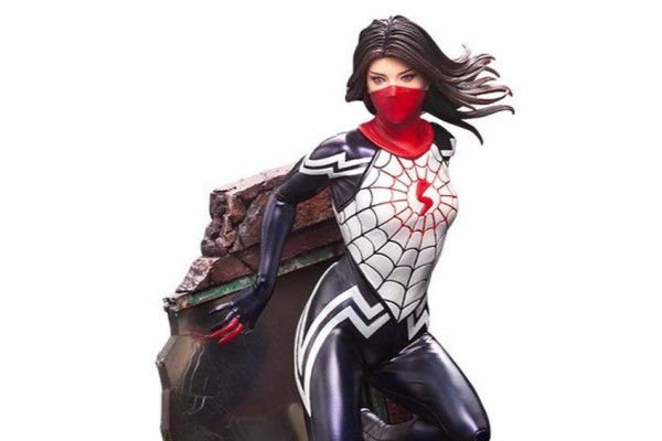 Silk Marvel Universe ARTFX Premier Easy Assembly Kit Kotobukiya Original