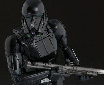 Death Trooper Rogue One Uma história Star Wars S.H. Figuarts Bandai Original