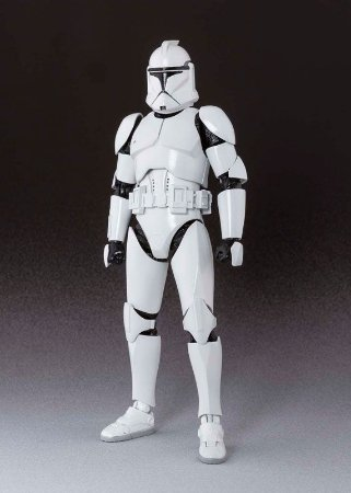 Clone Trooper Phase I Star Wars Episódio II O ataque dos clones S.H. Figuarts Bandai Original