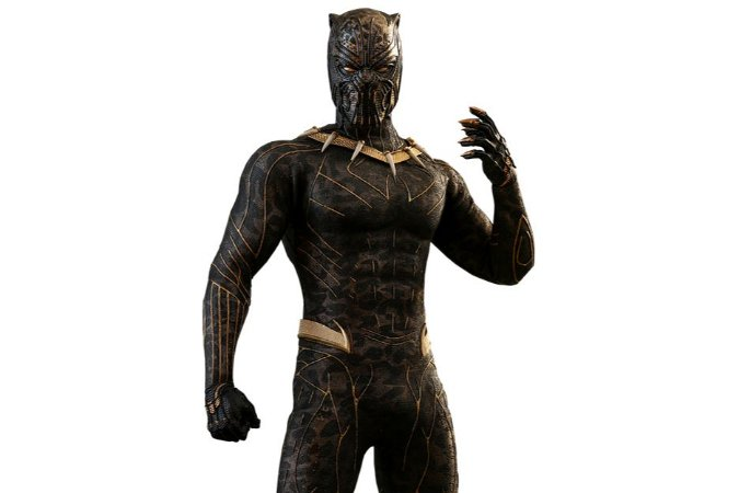 Erik Killmonger Pantera Negra Movie Masterpiece Hot Toys Original