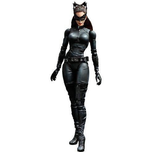 Mulher Gato Batman o cavaleiro das trevas ressurge Play arts Kai Square Enix original