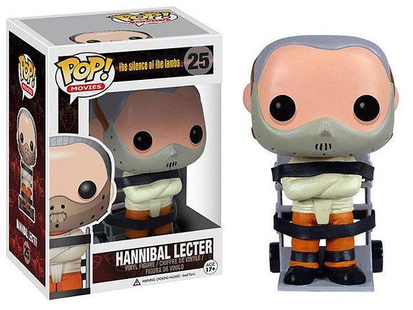 Hannibal Lecter O silêncio dos inocentes Pop! Movies 25 Funko Original