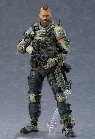 Donnie Ruin Walsh Call of duty Black Ops 4 Figma Good Smile Company Original