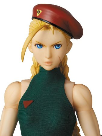 Cammy White Street Fighter Real Action Heroes RAH No.657 Medicom Toy Original