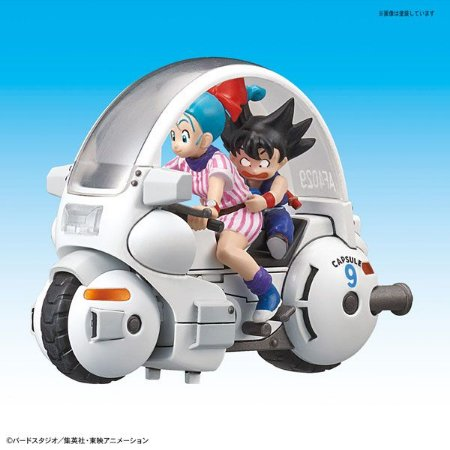 Bulma e Goku Moto Capsule Corp vol.1 Nº9 Mecha Collection Bandai Original