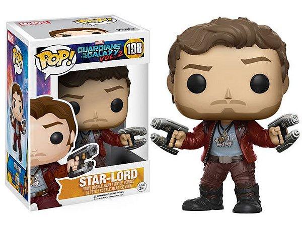Senhor das Estrelas Guardiões da Galaxia Vol. 2 Pop! Marvel Funko Original