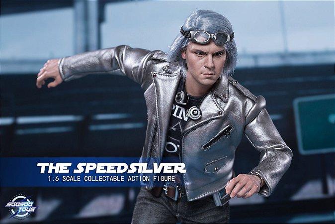 Mercúrio X-men Dias de um futuro esquecido The Speed silver Soosootoys