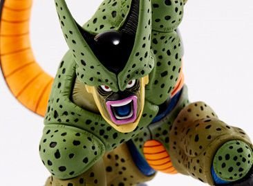 Cell Segunda Forma Dragon Ball Z Scultures 5 Banpresto Original