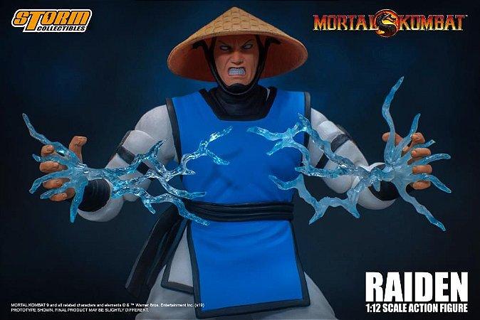 Raiden Mortal Kombat Storm Collectibles Original