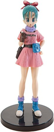 Bulma Dragon Ball Scultures 7 Banpresto Original