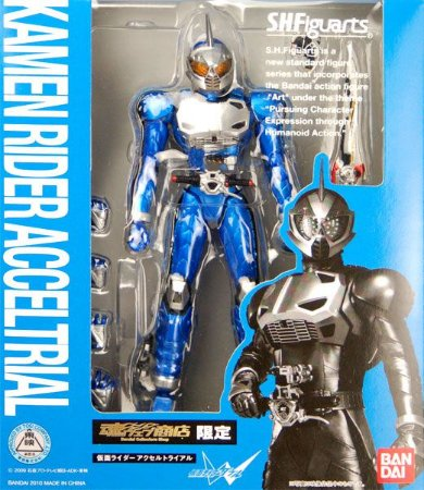 Kamen Rider Accel Kamen Rider W S.H. Figuarts Bandai Original