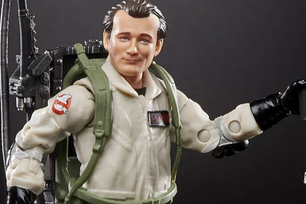 Peter Venkman Os caças fantasmas Plasma Series Terror Dog Build A Figure Hasbro Original