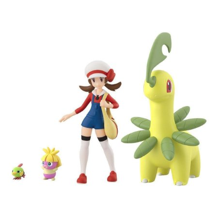 Lyra e set Pokemons Pokemon Scale World Bandai Original