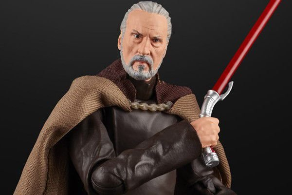 Conde Dooku Star Wars Episodio II O ataque dos Clones The Black Series Hasbro Original