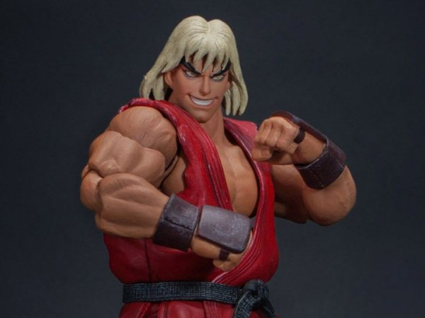 Violent Ken Street Fighter II Ultra Storm Collectibles Original