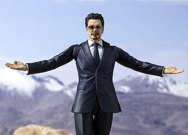 Tony Stark Birth of Iron Man Homem de Ferro Marvel S.H. Figuarts Bandai Original