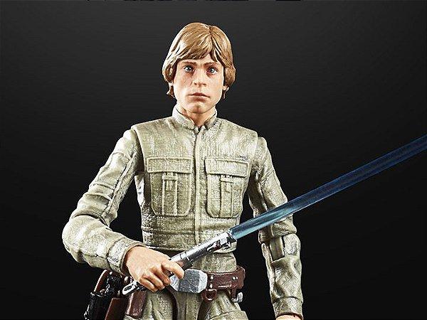 Luke Skywalker Bespin Star Wars Episódio V O império contra-ataca 40 anos The Black Series Hasbro Original