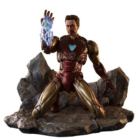 Homem de Ferro Mark 85 I am Iron Man edition Vingadores Ultimato S.H. Figuarts Bandai Original